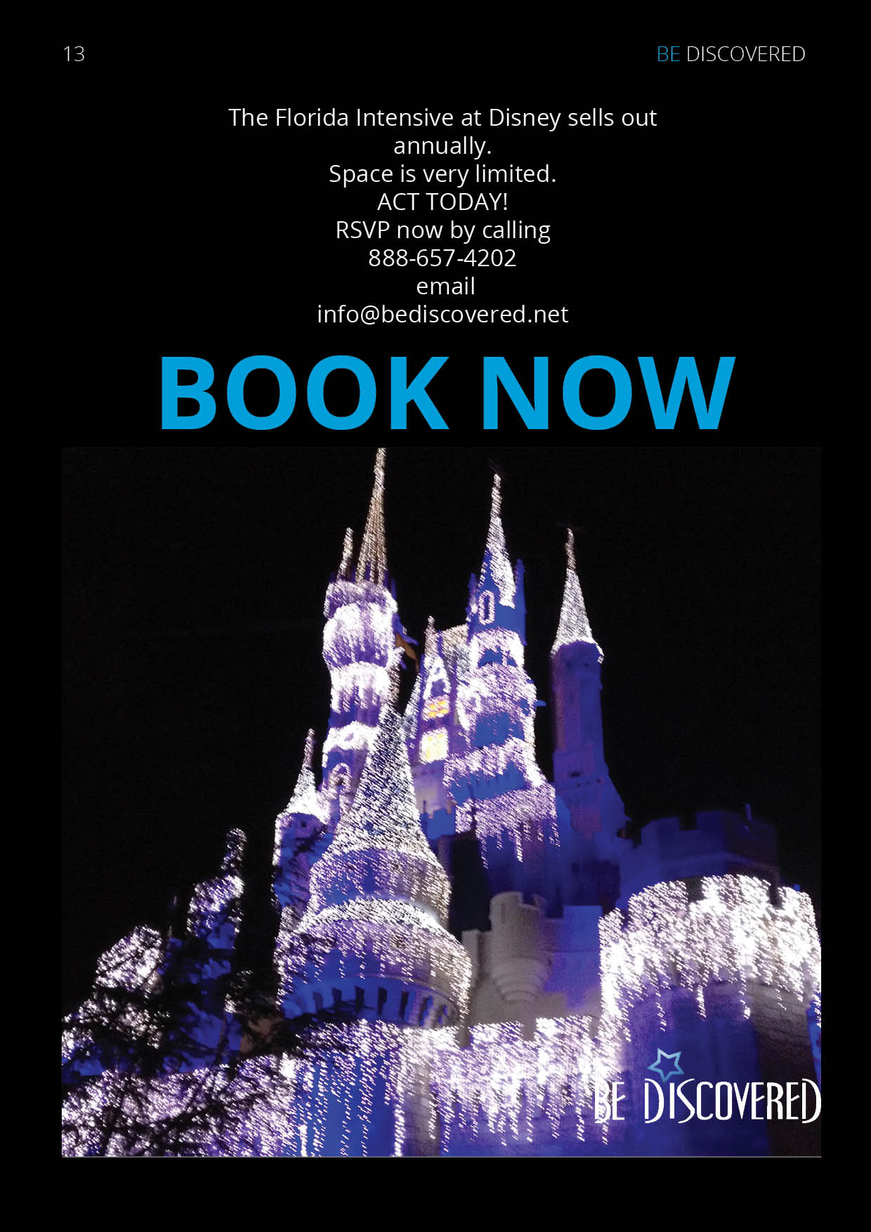 Program Info Packets Florida Intensive At Disney World Page 13